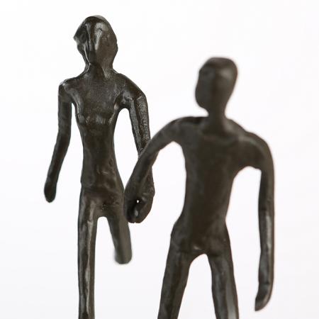Figurina RUNNING, metal, 18x17X7 cm7