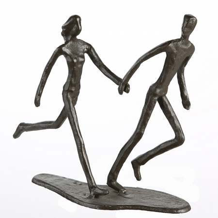 Figurina RUNNING, metal, 18x17X7 cm1