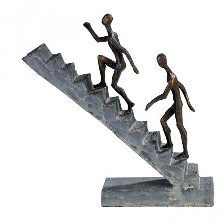 Figurina STAIRCASE, rasina, 28X28X8 cm0
