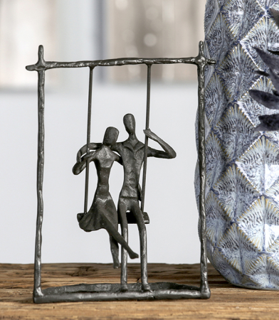 Figurina SWING, metal, 23x17X9 cm3