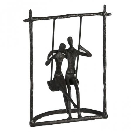 Figurina SWING, metal, 23x17X9 cm0