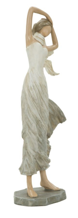 Figurina WOMAN FASHION -B- (cm) 14X9X33,5 1
