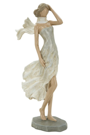 Figurina WOMAN FASHION -C- (cm) 12,5X7X25,51