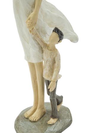 Figurina WOMAN and SON (cm) 12,5X9,8X28,54