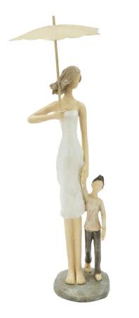 Figurina WOMAN and SON (cm) 12,5X9,8X28,51