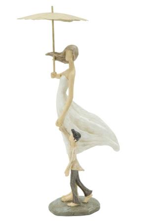 Figurina WOMAN and SON (cm) 12,5X9,8X28,50