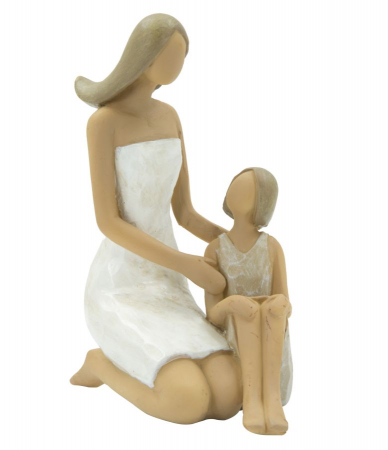 Figurina WOMAN and DAUGHTER (cm) 10X5,5X11,50