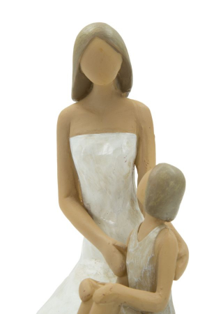 Figurina WOMAN and DAUGHTER (cm) 10X5,5X11,53