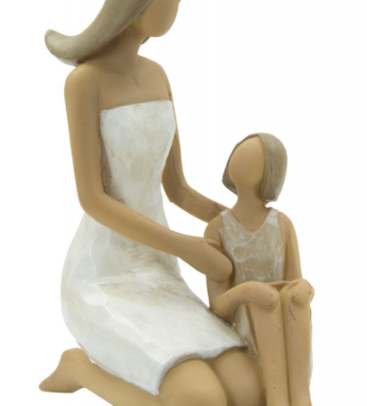 Figurina WOMAN and DAUGHTER (cm) 10X5,5X11,52