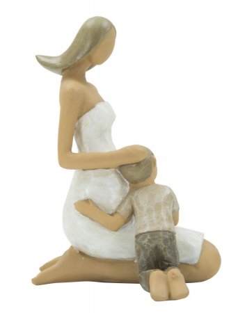 Figurina MOTHER and SON (cm) 8X7X11,51