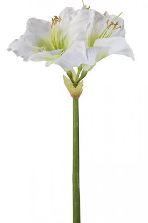 Floare AMARYLLIS, fibre sintetice, 49 cm0
