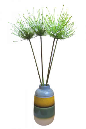 Floare artificiala TUBEROSA, fibre sintetice, 116 cm0