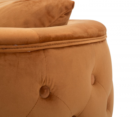 Fotoliu BUCHAREST, portocaliu, 76X74X71 cm, Mauro Ferretti6