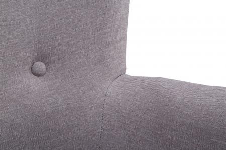 Fotoliu cu taburet SWEDEN, 73X72X96/59X37X43 cm, Mauro Ferretti3