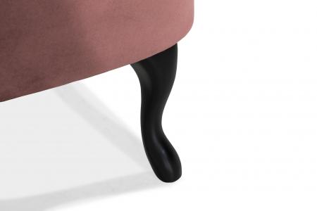 Fotoliu Diana 3H, Roz inchis, 59x84x58 cm6