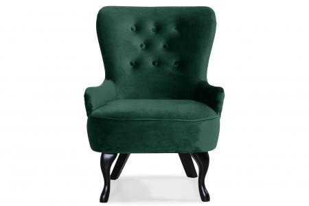 Fotoliu Diana 3H, Verde inchis, 59x84x58 cm0