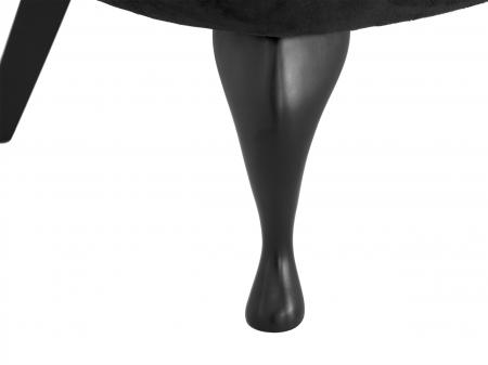 Fotoliu Diana 3L, Negru, 59x84x58 cm6
