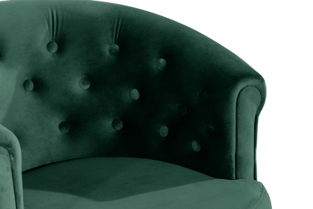 Fotoliu Mada, Verde inchis, 69xx74x65 cm4