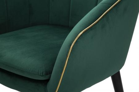 Fotoliu PARIS, verde, 62X58X78 cm, Mauro Ferretti5