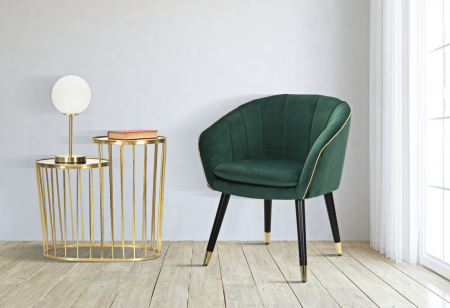 Fotoliu PARIS, verde, 62X58X78 cm, Mauro Ferretti7