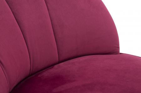 Fotoliu SOPY, bordeaux, 67X71X70 cm, Mauro Ferretti6