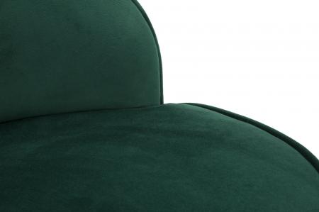 Fotoliu/Taburet PARIS, verde, 45X62 cm, Mauro Ferretti6