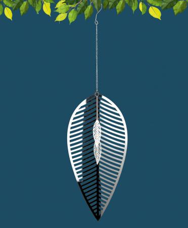 Ghirlanda FOGLIA, metal, 73x20 cm0