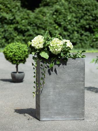Ghiveci Basaltino, ciment, gri, 63.5x86x33 cm0