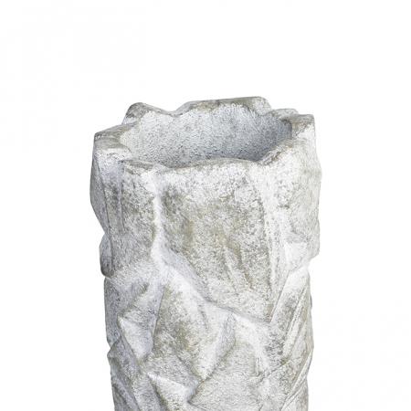 Ghiveci ROCK, compozit magneziu, 90x38 cm4
