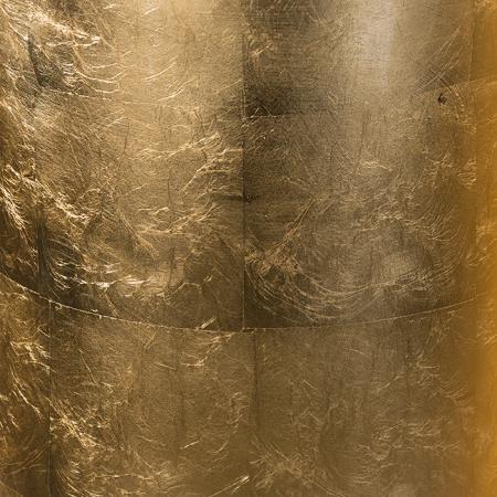 Ghiveci KONUS, compozit, auriu, 115x40 cm3