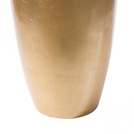 Ghiveci KONUS, compozit, auriu, 92x36 cm1