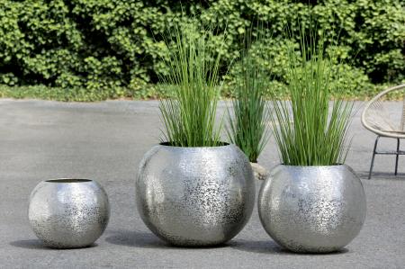 Ghiveci SULFURO, aluminiu, 51x46 cm1