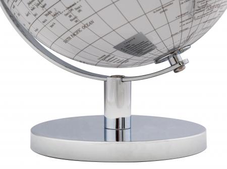 Glob alb/argintiu, CM Ø 20X28, Mauro Ferretti [3]