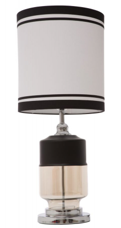 Lampa de masa ELEGANT-THREE negru (cm) Ø 32X750