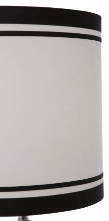 Lampa de masa ELEGANT-THREE negru (cm) Ø 32X754