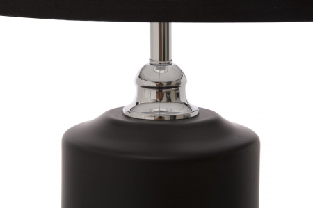 Lampa de masa ELEGANT-THREE negru (cm) Ø 32X752