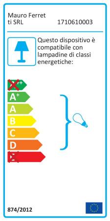 Lampa de masa GLAM RINGS (cm) Ø 35X627