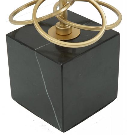 Lampa de masa GLAM RINGS (cm) Ø 35X623