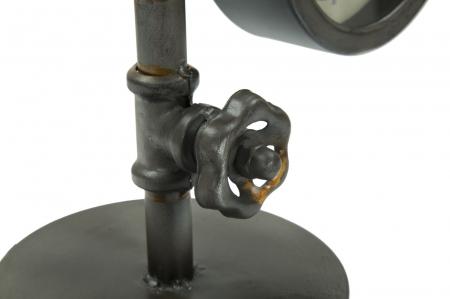 Lampa de masa INDUSTRY CLOCK (cm) 26X15X456