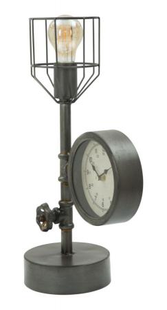 Lampa de masa INDUSTRY CLOCK (cm) 26X15X452