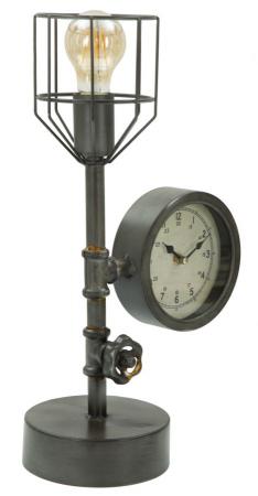 Lampa de masa INDUSTRY CLOCK (cm) 26X15X450