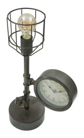 Lampa de masa INDUSTRY CLOCK (cm) 26X15X457