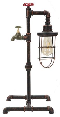 Lampa de masa MANHATTAN/CAGE (cm) 27X27X560