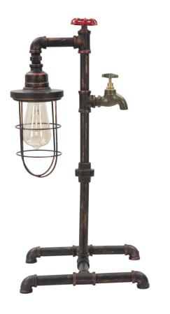 Lampa de masa MANHATTAN/CAGE (cm) 27X27X562