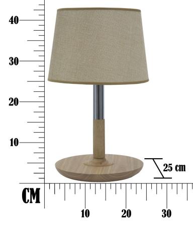 Lampa de masa  WOOD&STEEL Ø (cm) 25X425