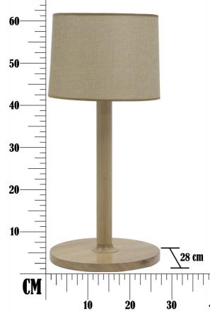 Lampa de masa WOODEN Ø (cm) 28X614
