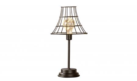 Lampa cu bec LED, metal, 33.5x17.5 cm0