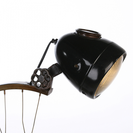 Lampa CYCLE, metal, 64x35x23 cm3