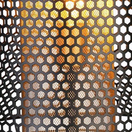 Lampa INDUSTRIAL, metal, 114x30 cm3