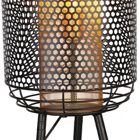 Lampa INDUSTRIAL, metal, 93x27 cm4